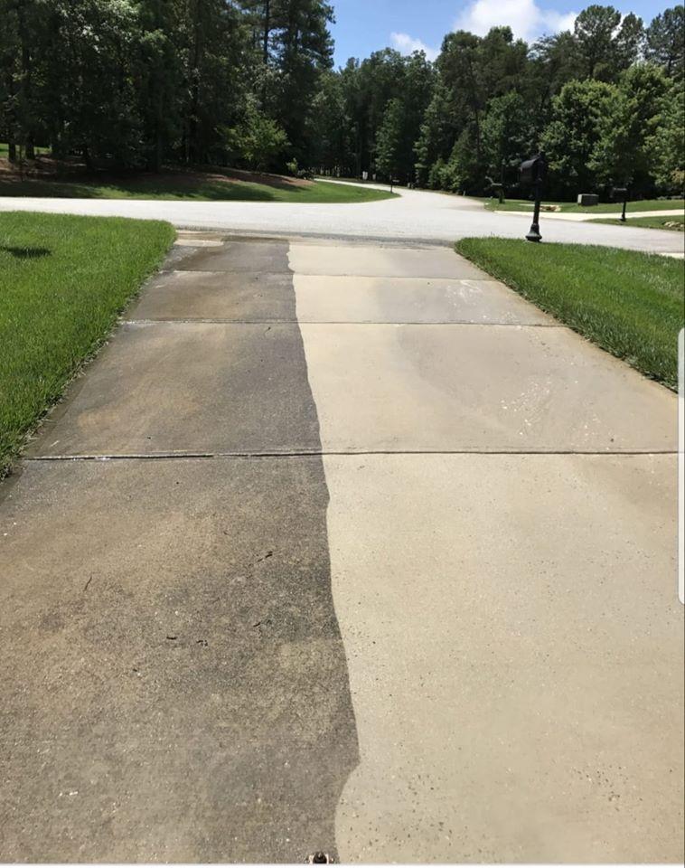 pressure washing driveway Conway Arkansas
