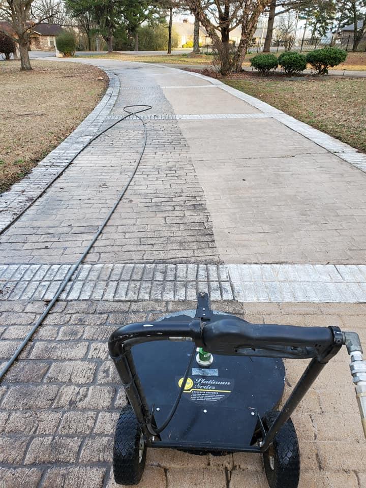 Driveway Pressure Wash Conway AR